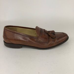 Johnston & Murphy Leather Tassel Loafers